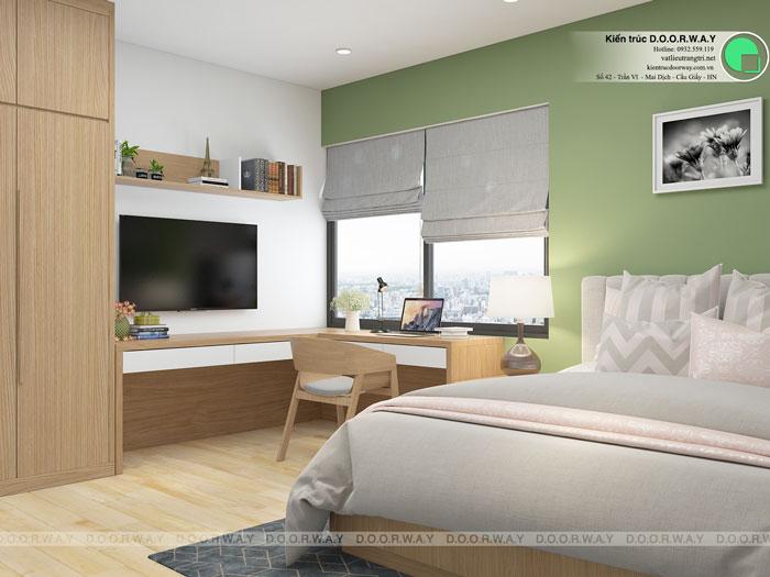 PN1(2) - Thiết kế nội thất căn hộ 127m2 Manhattan Tower | 2020