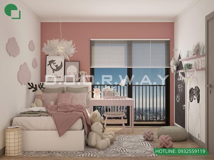 PN2(1) - Gợi ý nội thất căn hộ 108m2 Manhattan Tower đẹp