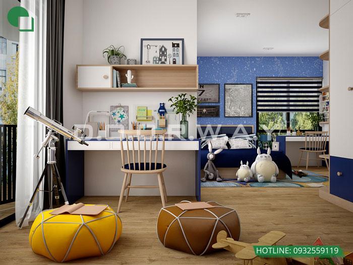 PN2(2) - Thiết kế nội thất căn hộ 127m2 Manhattan Tower | 2020