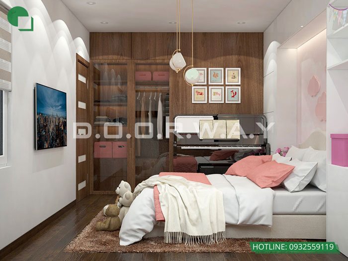 PN2(2) - Thiết kế nội thất chung cư Manhattan Tower | 2020