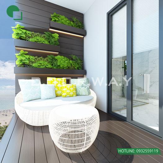 Tieu-canh(2) - Vẻ đẹp hiện đại của nội thất căn hộ 125m2 Manhattan Tower
