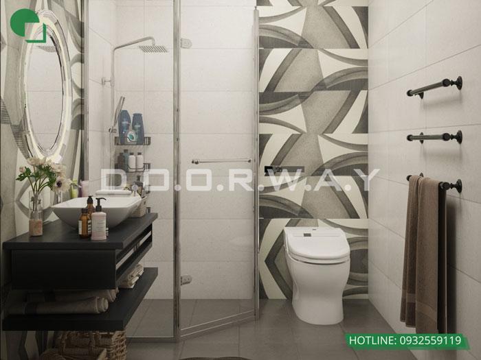 WC(1) - Nội thất căn hộ 105m2 Hinode City với cách bố trí tối ưu