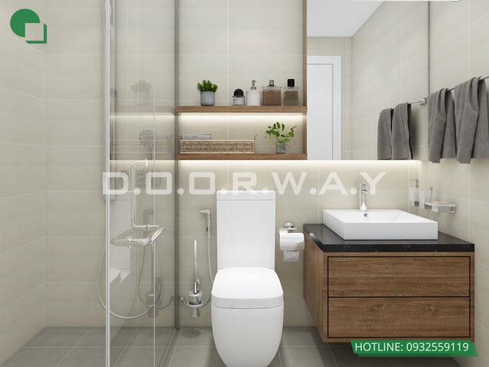 WC(1) - Thiết kế nội thất căn hộ 127m2 Manhattan Tower | 2020