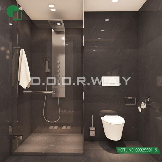 WC(1) - Thiết kế nội thất chung cư Manhattan Tower | 2020