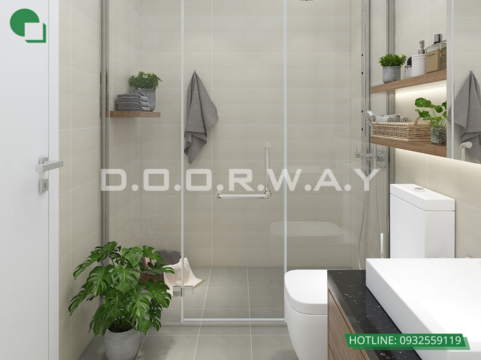 WC(2) - Thiết kế nội thất căn hộ 127m2 Manhattan Tower | 2020