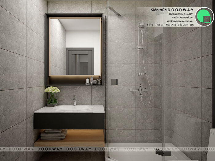 WC(2) - Nội thất căn hộ 164m2 Manhattan Tower cho đại gia đình