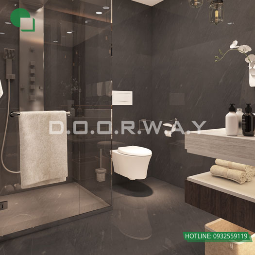 WC(2) - Thiết kế nội thất chung cư Manhattan Tower | 2020