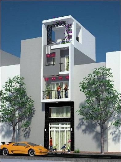 1-Tham khảo 7+ mẫu thiết kế nhà 30m2 4 tầng đẹp mê mẩn