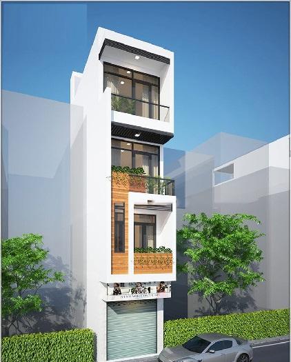 2-Tham khảo 7+ mẫu thiết kế nhà 30m2 4 tầng đẹp mê mẩn