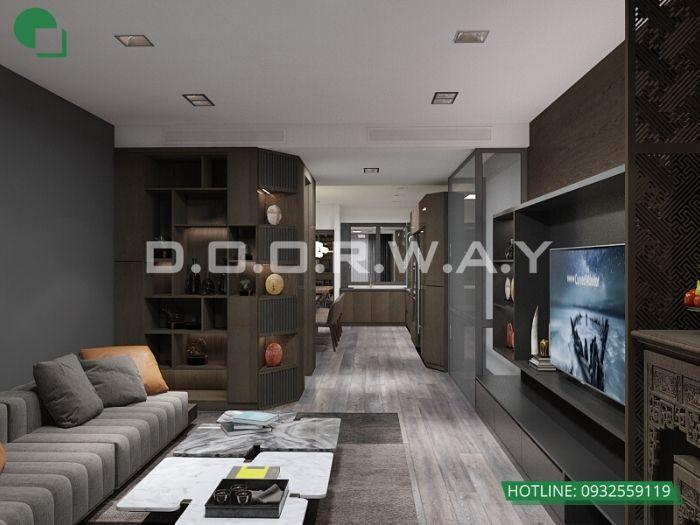 4-Thi công nội thất phòng khách bằng gỗ - xu hướng thời đại