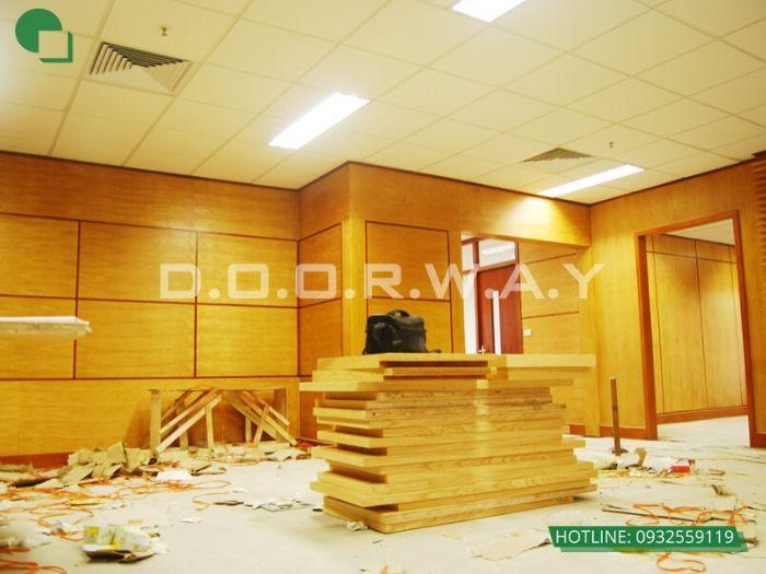 7-Thi công nội thất phòng khách bằng gỗ - xu hướng thời đại
