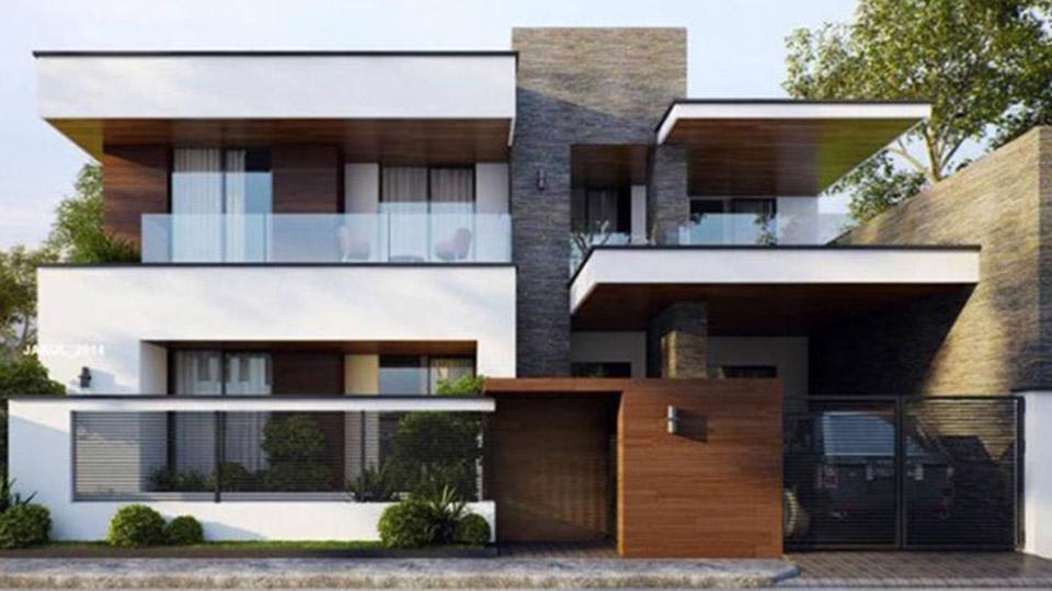 Tư vấn thiết kế biệt thự hiện đại// Kiến trúc Doorway