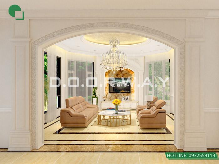 12-Các mẫu phòng khách tân cổ điển đẹp