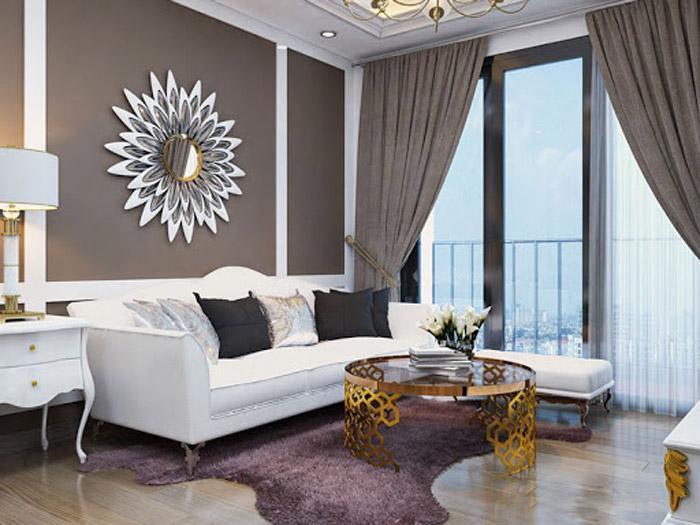 8-Các mẫu phòng khách tân cổ điển đẹp