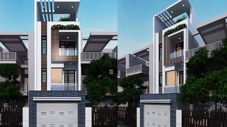 Tham khảo 7+ mẫu thiết kế nhà 30m2 4 tầng đẹp mê mẩn