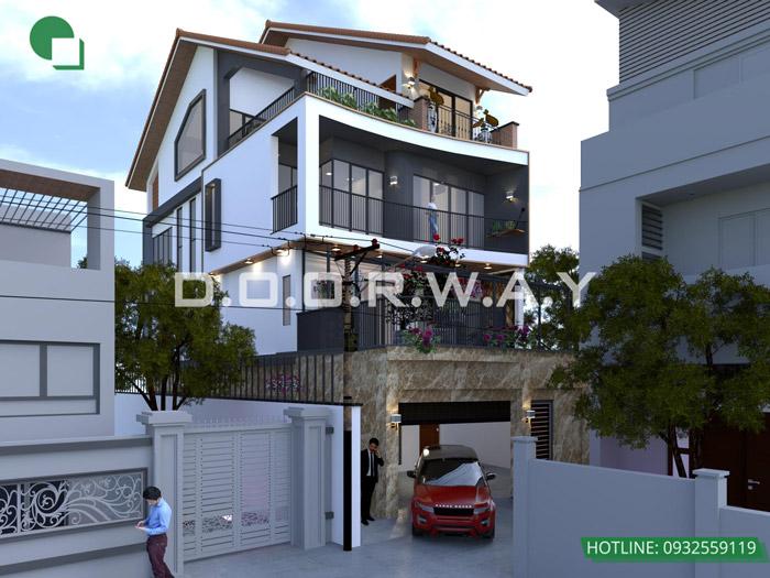 6-Tư vấn thiết kế biệt thự hiện đại// Kiến trúc Doorway
