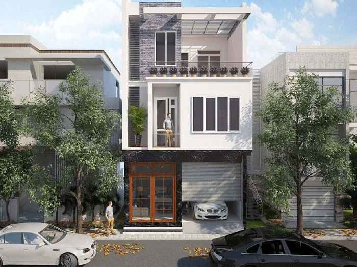 6-Cách thiết kế chỗ để xe cho nhà phố đúng chuẩn
