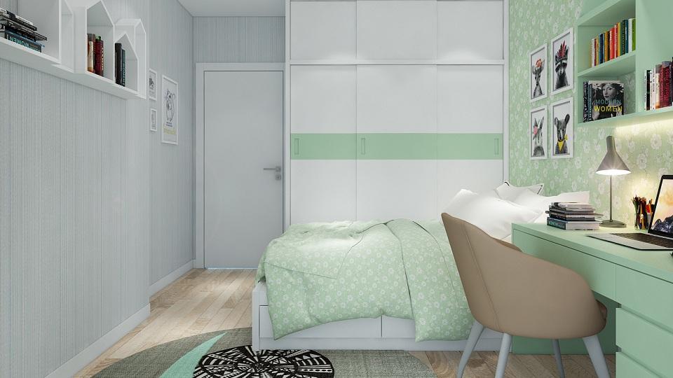 8 ý tưởng trang trí dùng giấy dán tường phòng ngủ hiện đại