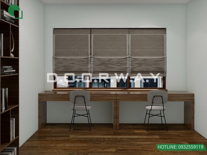 (4)Mẫu thiết kế nội thất nhà phố hiện đại đẹp 2020