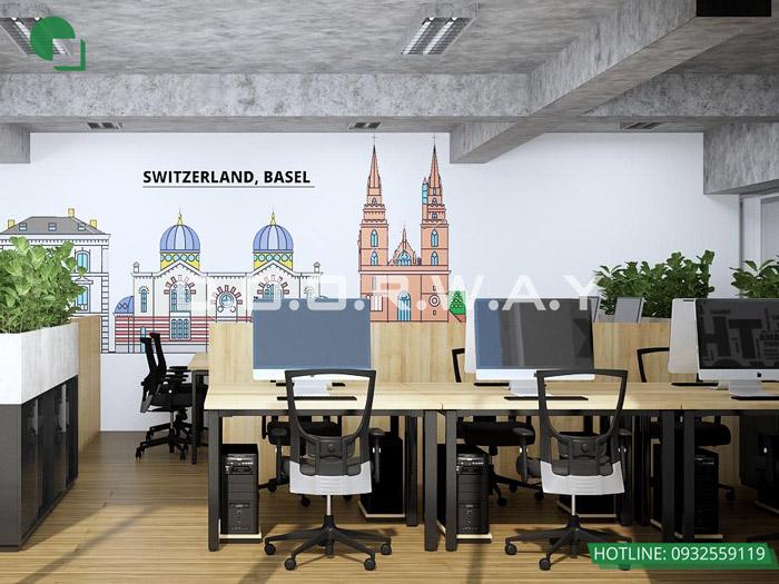 10-Thiết kế mẫu văn phòng làm việc hiện đại - ấn tượng từ Doorway