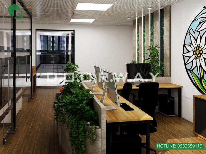 11-Thiết kế mẫu văn phòng làm việc hiện đại - ấn tượng từ Doorway
