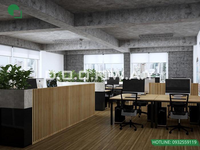 3-Thiết kế mẫu văn phòng làm việc hiện đại - ấn tượng từ Doorway