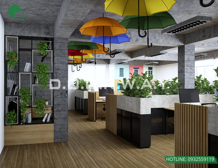 6-Thiết kế mẫu văn phòng làm việc hiện đại - ấn tượng từ Doorway