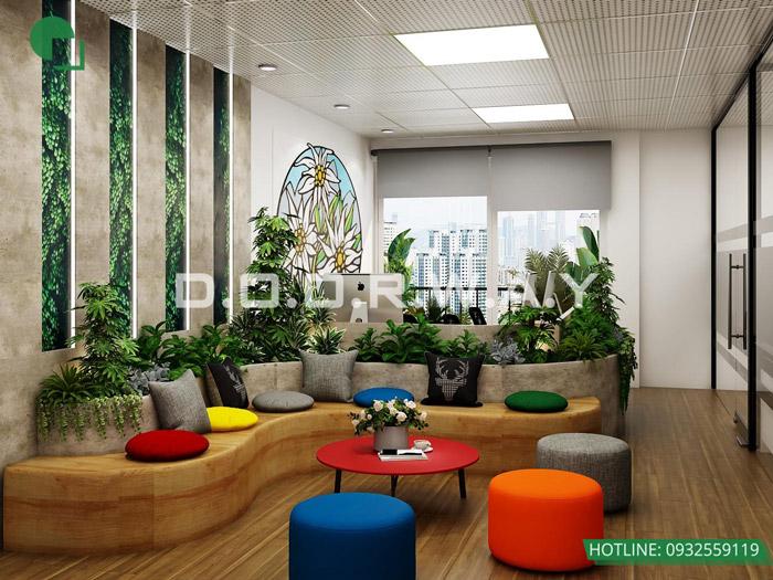 9-Thiết kế mẫu văn phòng làm việc hiện đại - ấn tượng từ Doorway
