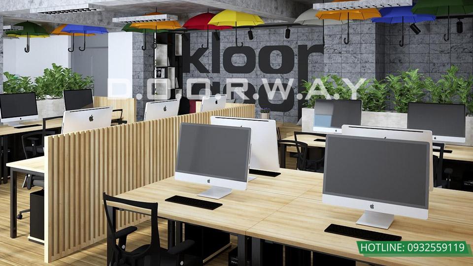 Thiết kế mẫu văn phòng làm việc hiện đại - ấn tượng từ Doorway
