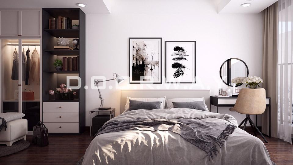 Mẫu thiết kế nội thất chung cư phong cách Scandinavian
