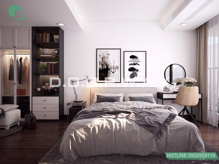 (4)Mẫu thiết kế nội thất chung cư phong cách Scandinavian