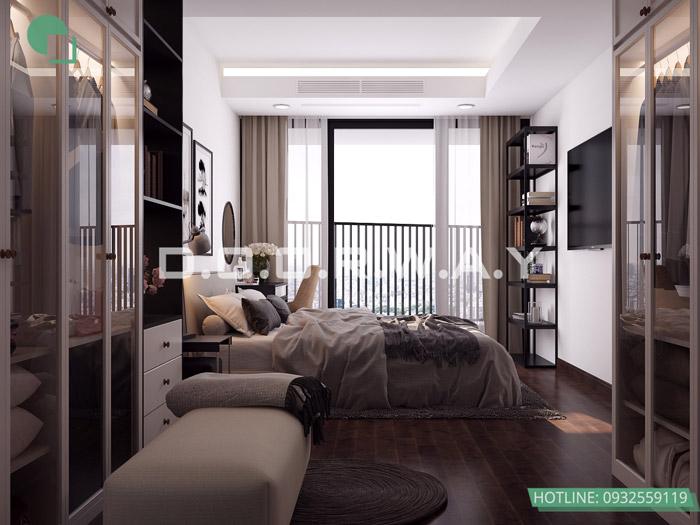 (6)Mẫu thiết kế nội thất chung cư phong cách Scandinavian