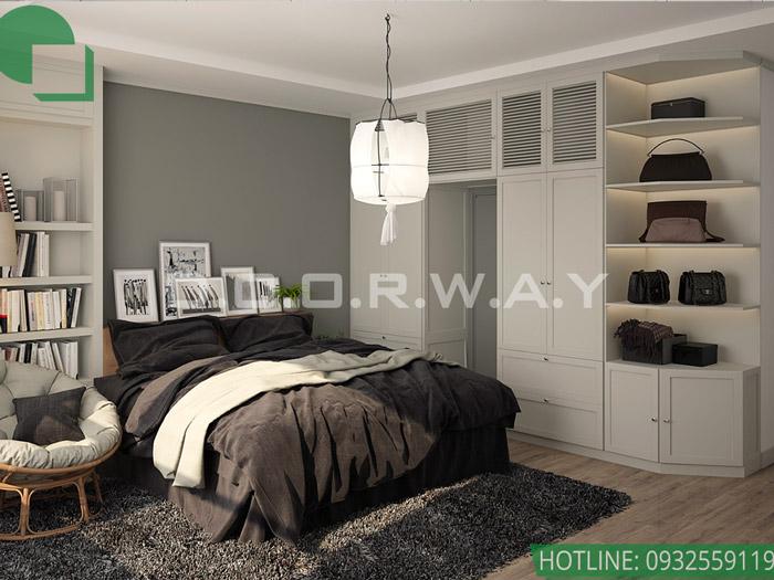 8-Mẫu nội thất chung cư 1 phòng ngủ