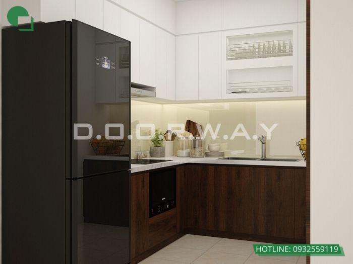 (pb1)Thiết kế nội thất căn 3 phòng ngủ Mỹ Đình Pearl