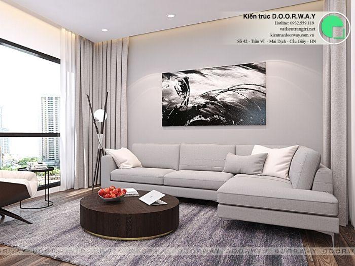 pk1-Thiết kế nội thất căn 2 phòng ngủ Mỹ Đình Pearl