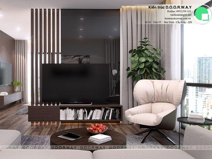 pk2-Thiết kế nội thất căn 2 phòng ngủ Mỹ Đình Pearl