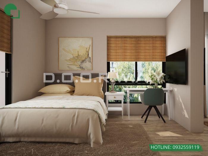 (pn1) góc 1 Thiết kế nội thất căn 3 phòng ngủ Mỹ Đình Pearl