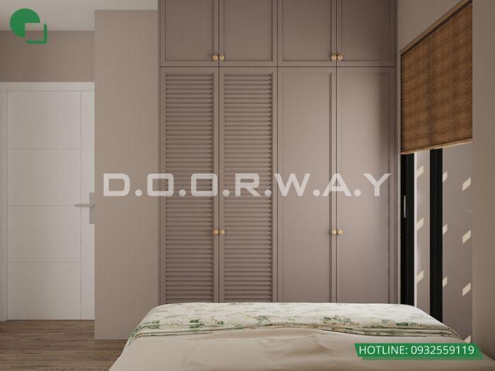 (pn1) góc 2-Thiết kế nội thất căn 3 phòng ngủ Mỹ Đình Pearl