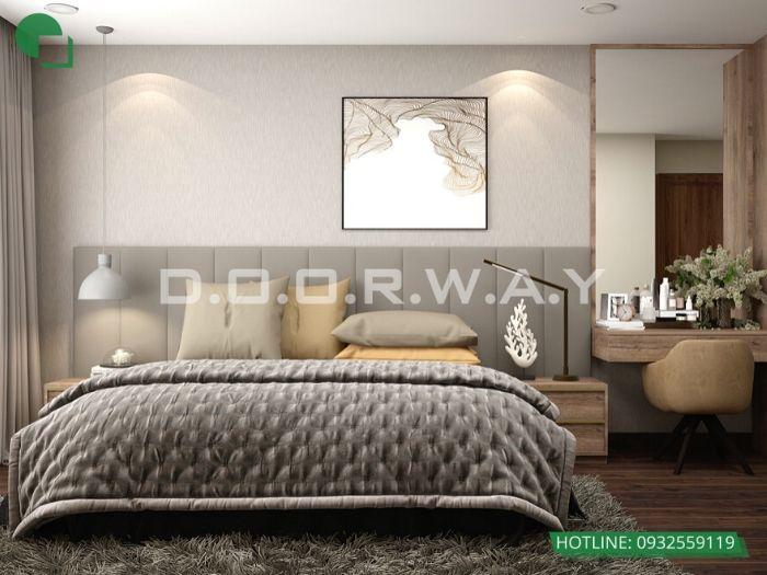 (pn3) góc 1Thiết kế nội thất căn 3 phòng ngủ Mỹ Đình Pearl