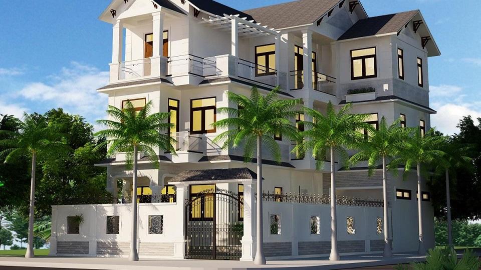 Thiết kế nhà 3 mặt tiền và cách hóa giải phong thủy