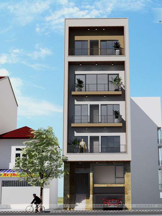 3-5 mẫu thiết kế nhà mặt phố kinh doanh đẹp// Kiến trúc Doorway