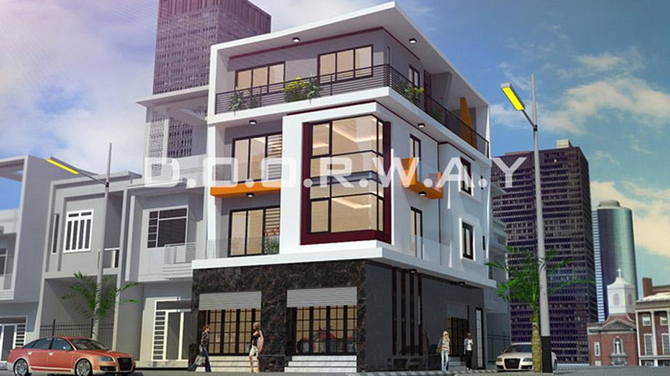 5 mẫu thiết kế nhà mặt phố kinh doanh đẹp// Kiến trúc Doorway