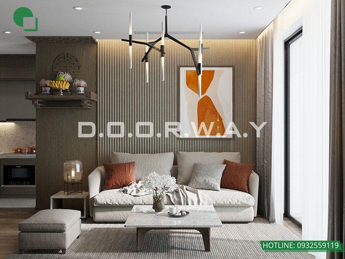 (15)Thiết kế nội thất chung cư 3 phòng ngủ tại The Zei