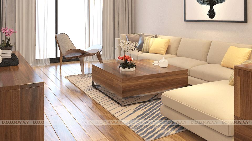 Thiết kế nội thất chung cư 90m2 phong cách