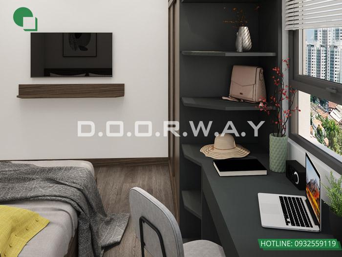 (3)Thiết kế thi công nội thất chung cư trọn gói tại Eco Dream
