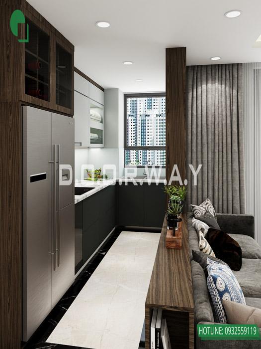 (5)Thiết kế và thi công nội thất chung cư trọn gói tại Eco Dream