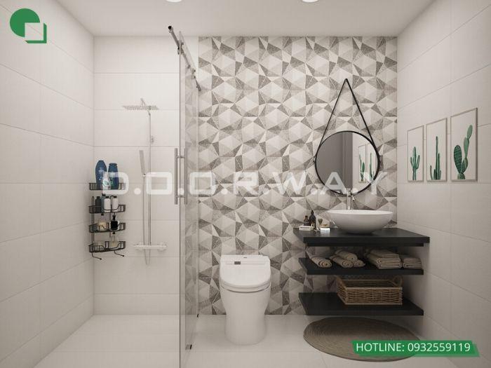 wc-Thiết kế nội thất căn 3 phòng ngủ Mỹ Đình Pearl