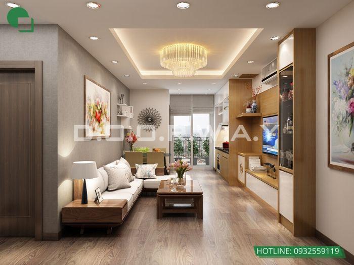 (2)3 mẫu thiết kế nội thất chung cư hiện đại