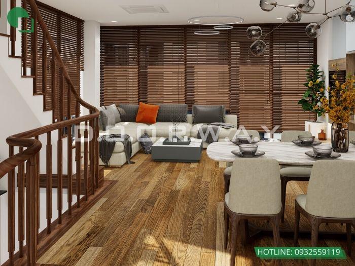 (4)Thiết kế nội thất nhà lô phố 4 tầng đẹp từng milimet