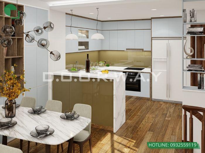 (6)Thiết kế nội thất nhà lô phố 4 tầng đẹp từng milimet